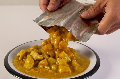 makanan retort pouch